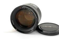 *Read* Minolta AF 85mm F/1.4 Prime Lens for Sony A Mount MIJ Tested OK #5432