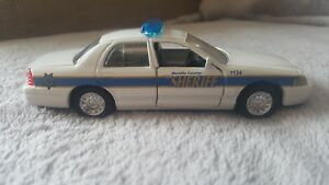 Road Champs Bernillo County Sheriff Police Diecast Vehicle 1:43 Scale 1998