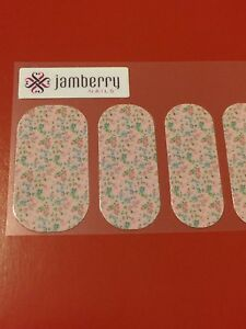 Jamberry Half Sheet - Blushing Rose - VHTF Retired 2013
