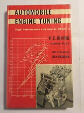 AUTOMOBILE ENGINE TUNINGHIGH PERFORMANCE TUNE & HOW TO OBTAIN MANUAL P.E IRVING