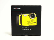 Fujifilm FinePix XP140 16.4-Megapixel Waterproof Digital Camera - Yellow NEW