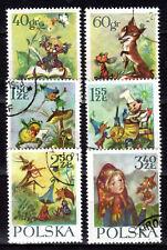 Poland - 1962 Fairytales - Mi. 1364-69 VFU