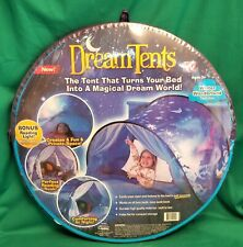 """Dream Tents """"Winter Wonderland"""" Twin Size Pop Up Bed Tent ~ New"""