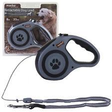 Retractable Dog Lead Flexible Locking Extending Leash Comfort Padded Large ##