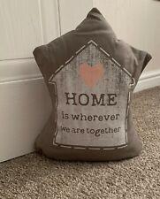 Home Heart Fabric Novelty Sand Filled Heavy Weight Door Jam Stop Stopper