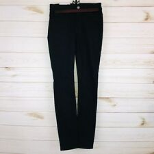 7 for All Mankind Black High Waist Skinny Jeans Size 24