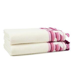 Butterfly 6 Pieces Bath Towel Set (2 Bath Towel, 2 Hand Towel, 2 Washcloth)