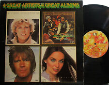 4 Great Artists /Albums (Glen Campbell, Crystal Gayle, Kenny Rogers, Anne Murray