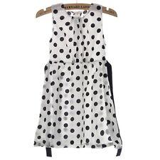 Vntage Kids Children Clothing Polka Dot Girl Chiffon Sundress Dress Cuddly - CB