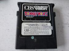 Donkey Kong CBS Colecovision Nintendo