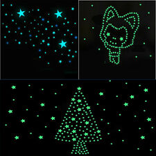 100xWall Sticker Home Decor Glow In The Dark Stars Kids Livingroom Decal