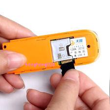 USB Wi-Fi Adapters/Dongles USB STICK SIM Modem HDSPA Flow Display Statistics