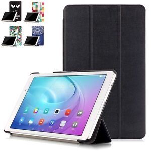 TabletHutBox Smart Case Book Cover Stand for Huawei Mediapad M3 8.4 Tablet