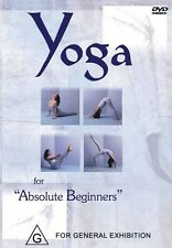 YOGA FOR ABSOLUTE BEGINNERS - YOGI MARLON - NEW & SEALED DVD