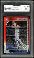 2019 Hoops Premium RED Prizm #215 Goga Bitadze RC GMA 10 GEM MINT COMP PSA
