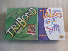 LOT Tribond Diamond Edition CD Rom Taboo 10th Anniversary Family Party Games NEW