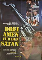Tres Amen Para Den Satanás - Cartel de Película A1 - Klaus Kinski - AF584