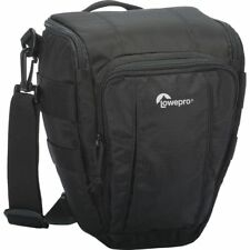 Lowepro Toploader Zoom 50 AW II Bag, Camera Case for DSLR & Lens, Black #LP36702