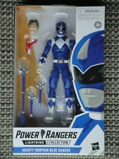 Mighty Morphin Power Rangers Blue Ranger action figure NIB Lightning Collection
