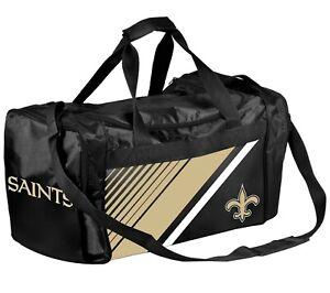 NFL New Orleans Saints Gym Travel Luggage Medium Duffel Bag