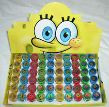 60 pcs SpongeBob Patrick Self inking Stamper Pencil Topper School Teacher Supply