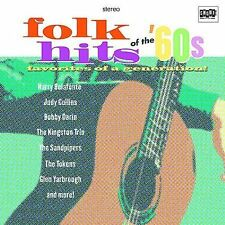 VARIOUS ARTISTS - FOLK HITS OF THE '60S (NEW CD)
