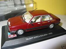 SIMCA TALBOT SOLARA DE 1980 SCALE 1/43