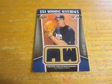 Asher Wojciechowski 2009 UD Signature Stars USA Winning Materials #42 #d 048/499