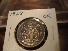 1968 - Uncirculated - Canada Half Dollar - Canadian 50 cent