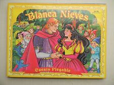 Blanca Nieves, Cuento Plegable / Snow White, Pop-up Book