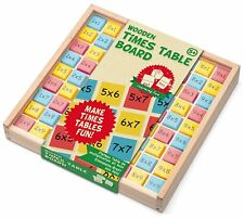 Tobar Wooden Times Table and Fractions Board Set