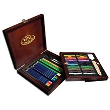 Drawing Pencil Art Set Professional Supplies Sketch Pencil Kit Student Gift NEW