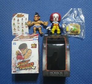 Loyal Subjects Action Vinyl Street Fighter E Honda Horror Pennywise IT Exorcist