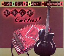 "NEW ""Live Cactus!"" Joe Ely with Joel Guzman (CD 13 Tracks, Rack'em Records 2008)"