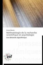 Methodologie de la Recherche Scientifique en Psychologie by Djassoa Gnansa...