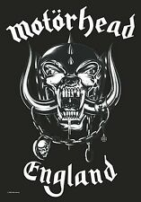 Motorhead England large fabric poster / flag   1100mm x 750mm (hr)