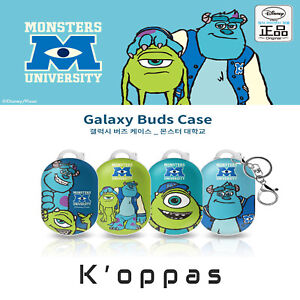 Official Disney Monsters University Samsung Galaxy Buds Case Cover With Clip