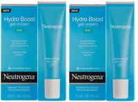 Neutrogena Hydro Boost Eye Gel-Cream with Hyaluronic Acid, .5 oz (2 Pack)