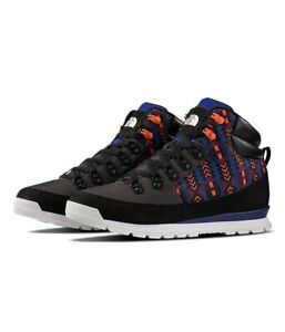 New Men's The North Face Rage '92 Back-to-Berkeley Boots Black Aztec Blue $150