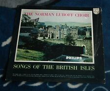 THE NORMAN LUBOFF CHOIR SONGS OF THE BRITISH ISLES DUTCH LP PHILIPS HI-FI STEREO
