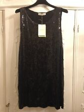 NWT Pierre Balmain cannotta in paillettes tg. M