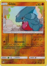 Pokemon Gible - 60/131 - Common - Reverse Holo NM-Mint Forbidden Light