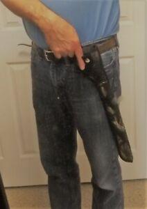 "R/L Black / Camo Belt Clip Loop Holster Heritage Rough Rider revolver 16"" Barrel"