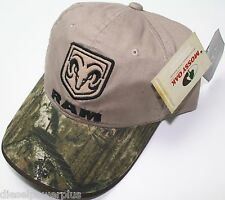 dodge truck diesel embroidered cap auto car hat camo ram head mopar mossy oak