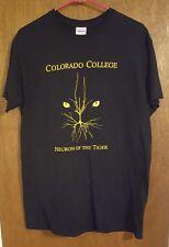 CC Tigers - Colorado College Hockey black Shirt Size Medium NCAA