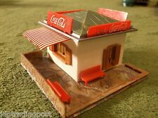 MINT Faller AFX T Jet Slot Car Race Track Set Coke Stand Building