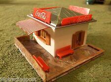 MINT NOS Faller AFX T Jet Slot Car Race Track Set Coke Stand Building