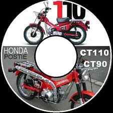 HONDA CT90 HONDA CT110 POSTIE BIKE 1977-1986 REPAIR SERVICE MANUAL CD