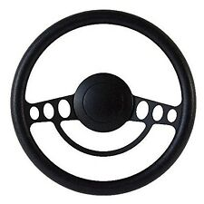 NEW!! Hot Rod Street Rod Rat Rod w/Ididit GM Column Black Steering Wheel Kit