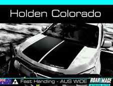 2012-15 HOLDEN Colorado bonnet stripes decals stickers decal sticker stripe Z71
